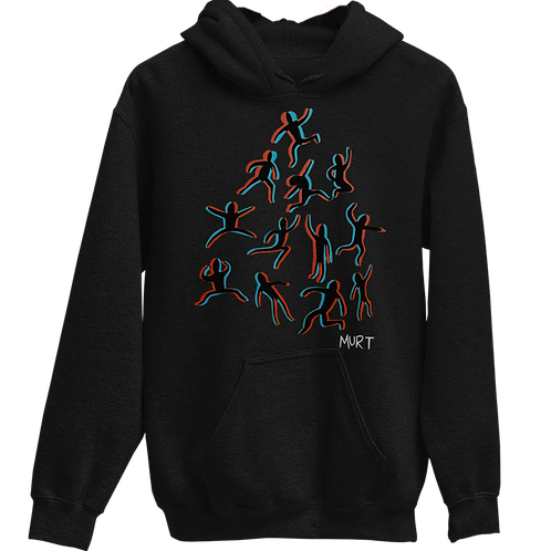 Strong Foundation (Black) Hoodie