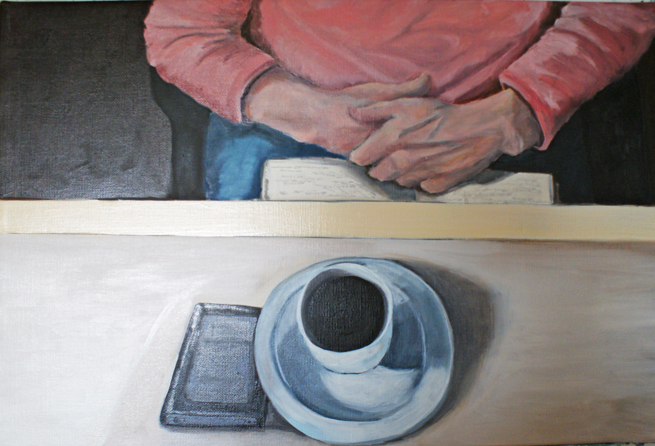 Kaffepause - 40cmX60cm