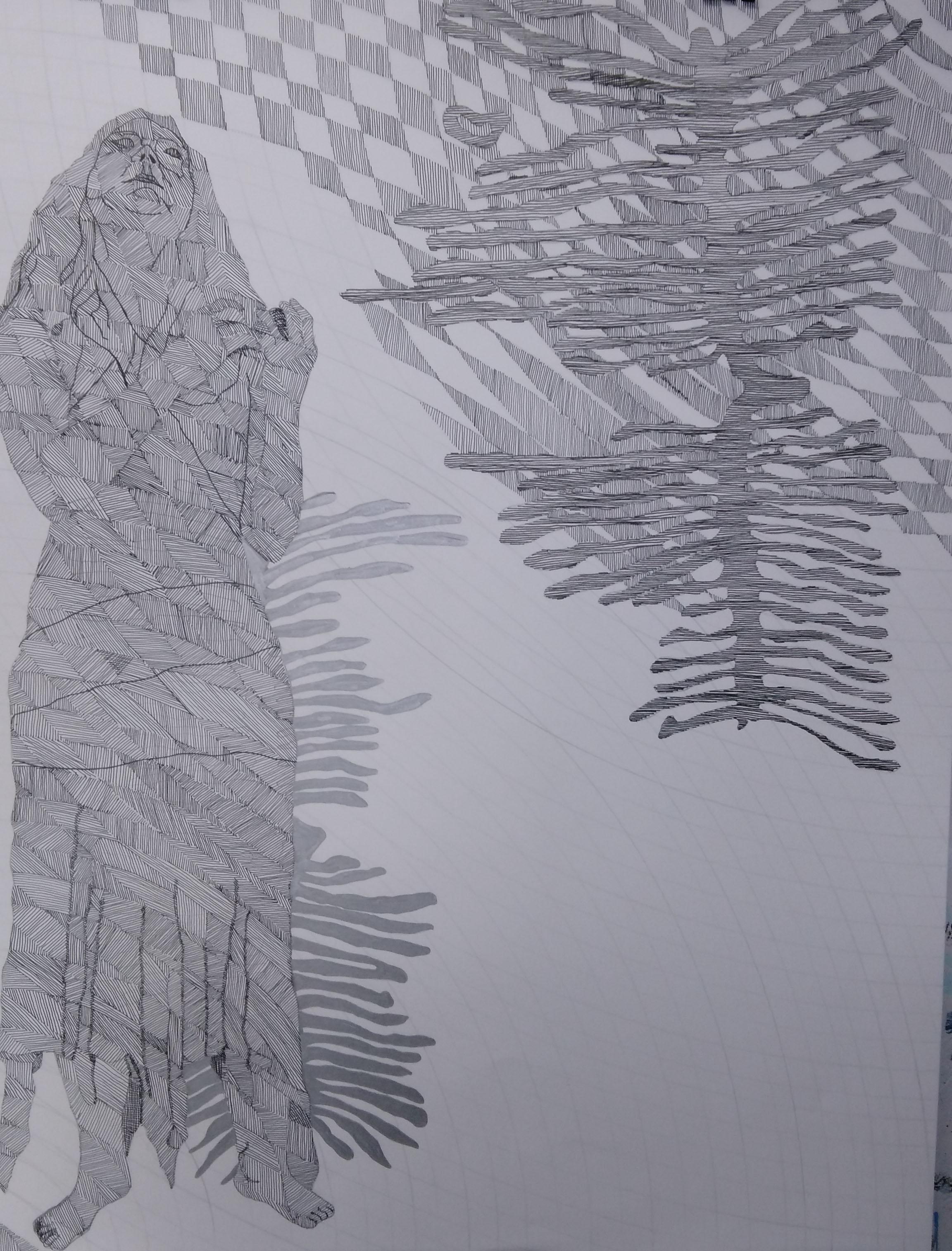 Ariadne - 65cmX50cm
