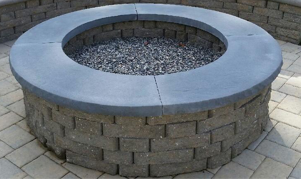 stone fire pit firepit .png