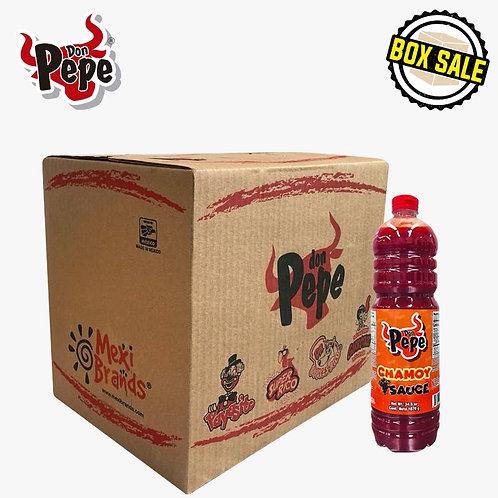 Box Don Pepe Chamoy Sauce 12/ 33 fl oz (1 Ltr)
