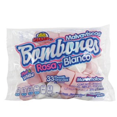Pink and White Marshmallow 225g