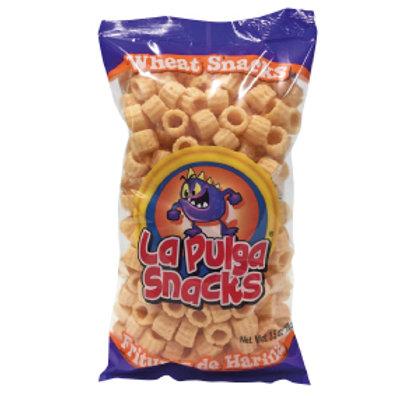 La Pulga Fritura de Harina Wheat Snack ring 5 Oz
