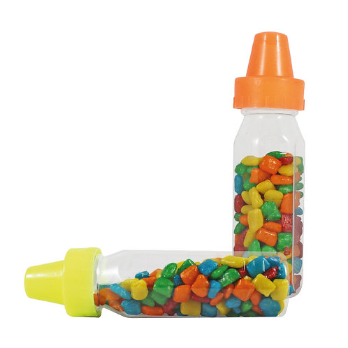 Mini Bottle with gum assorted flavors and colors