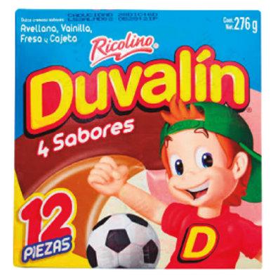 Duvalin display 4 sabores 18