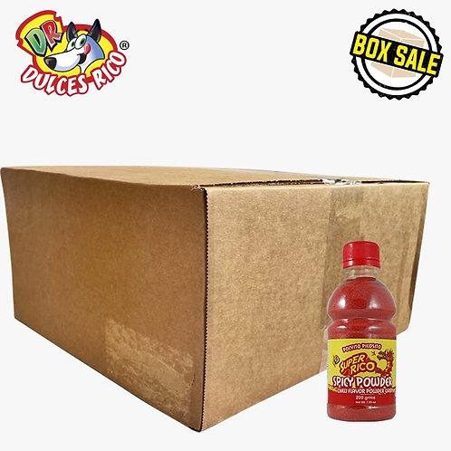 Box Super Rico Spicy Powder Mini Jar 25 / 7 oz (200 g)