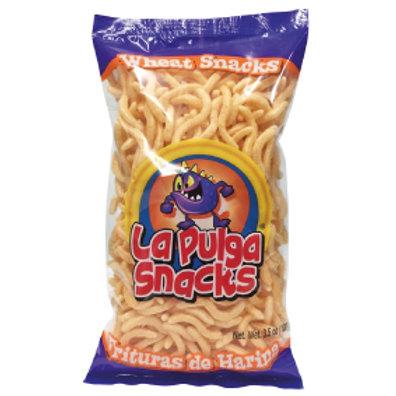 La Pulga Fritura de Harina Wheat Snack WAVE  5 Oz