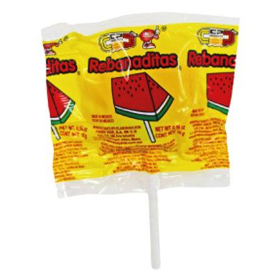 Rebanadita enchilada lollipop