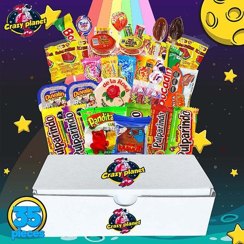 Crazy Planet 35 pieces box -