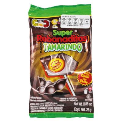 Super Tamarindo Lollipop with chilli