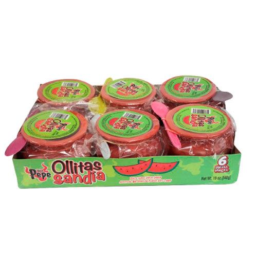 Ollitas Ricas Don Pepe Watermelon 6/90 g