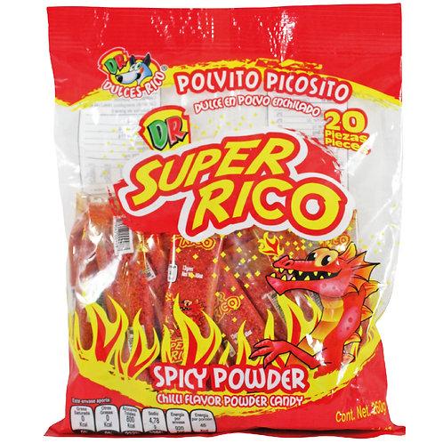 Super Rico Bolsa Spicy Powder 20 pieces