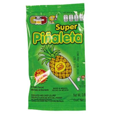 Super Piñaleta Lollipop with chilli