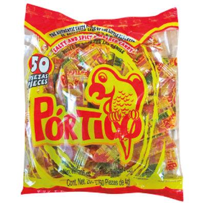 Portico Chilli spicy powder bag with 50ct  /  4gr c/u