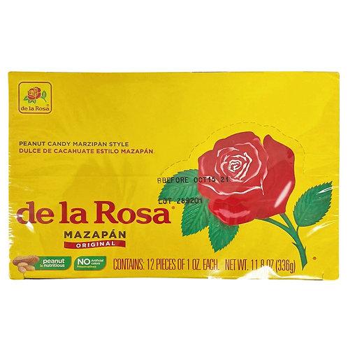 De La Rosa Peanut Candy Mazapan Style 12ct