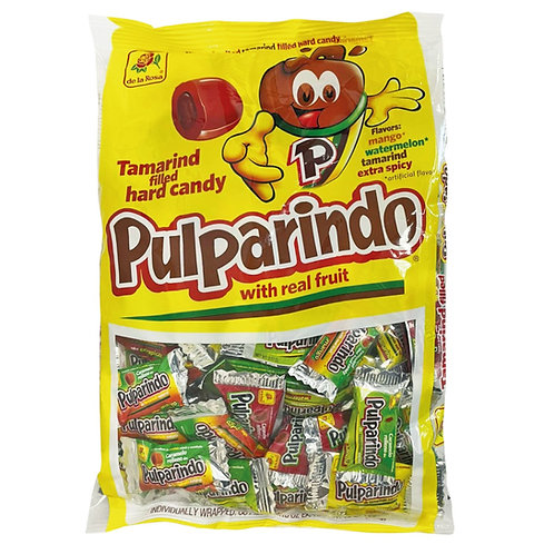 De La Rosa Pulparindo Hard Candy 65ct