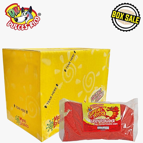 Box Super Rico Spicy Powder 12 / 1.1 lb (500 g)
