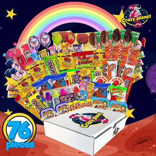Crazy Planet 76 pieces box - Party Combo