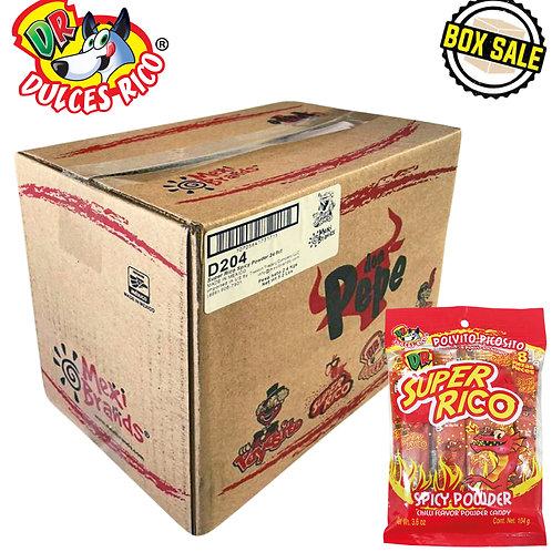 Dulces Rico Super Rico 24 bags / 8 pieces