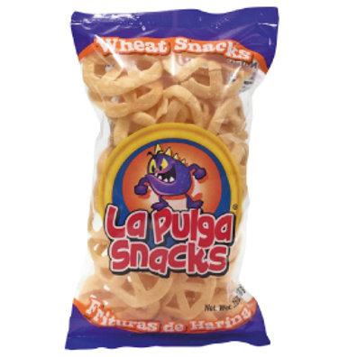 La Pulga Fritura de Harina Wheat Snack  Wheel 3.5 oz