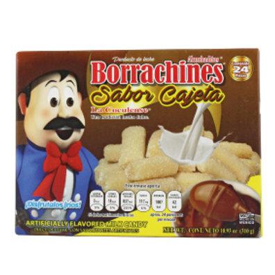 Borrachines Dulces de leche cajeta 24ct
