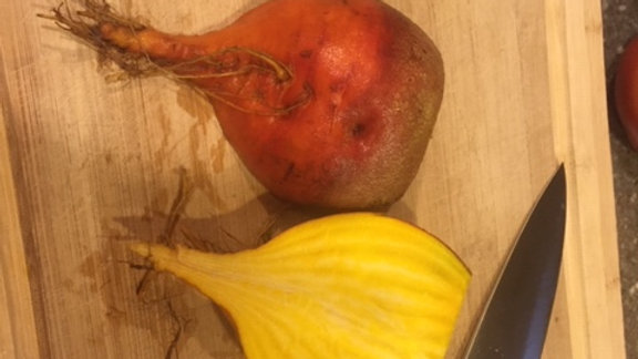 Gold Beets - bunch