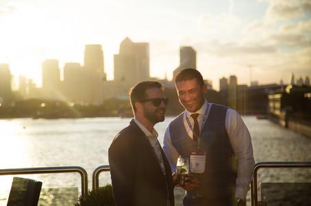 ILS | Sunset London Sky line | Events Photography