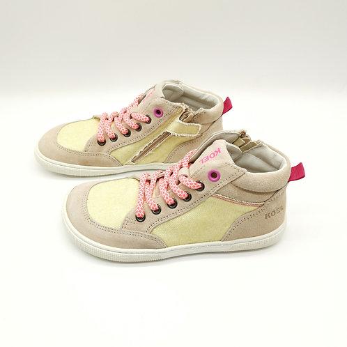 KOEL4KIDS Barefoot Sneaker Highcut Yellow