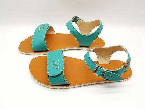 Tikki Shoes Vibe Golden Turquoise