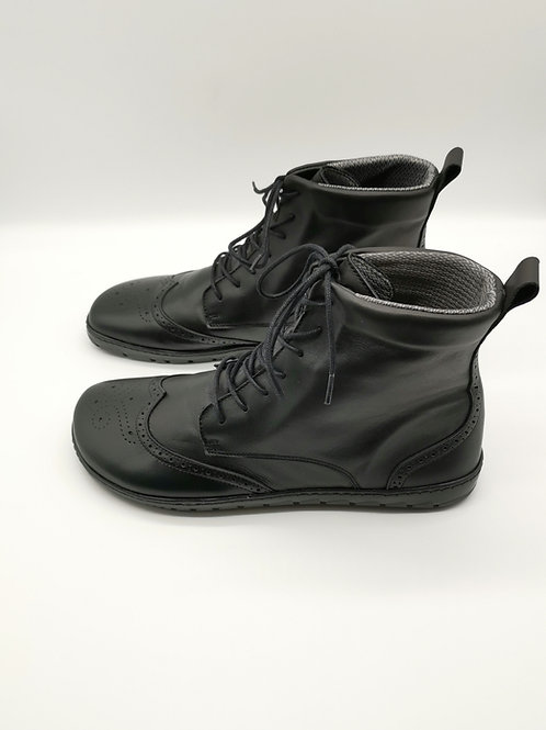 Zaqq Quintic Brogue Black Waterproof