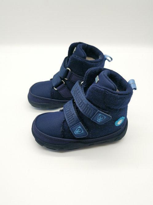 Affenzahn Mid Boot Wool Bear dark blue