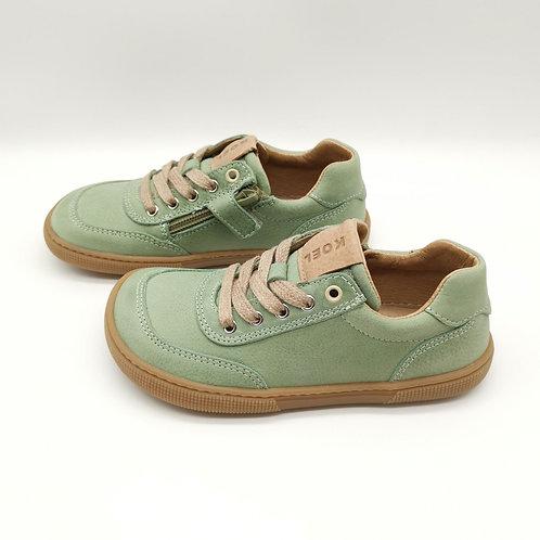KOEL4KIDS Barefoot Sneaker Lowcut Green