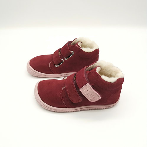 Filii CHAMELiiON velours rasberry wool velcro