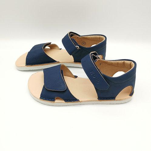 KOEL4KIDS Barefoot Sandale Blue (Ferse geschlossen)