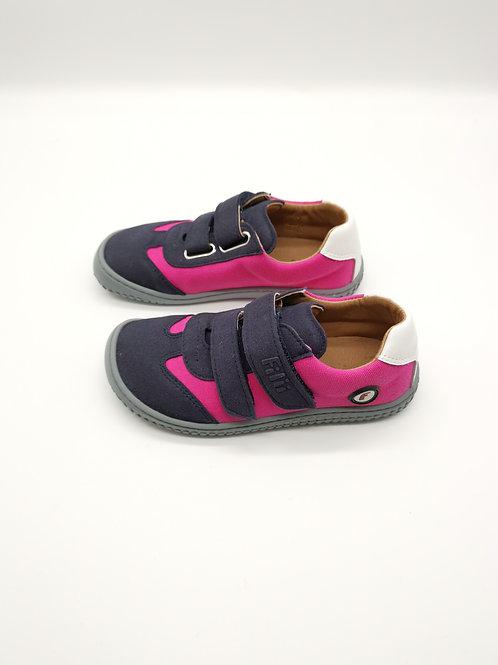 Filii Sneaker Leguan velcro textile pink