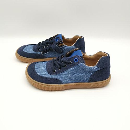 KOEL4KIDS Barefoot Sneaker Lowcut Blue