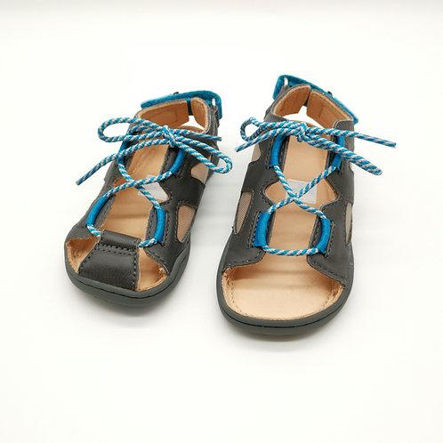 Affenzahn Dog Sandal Leather Grey