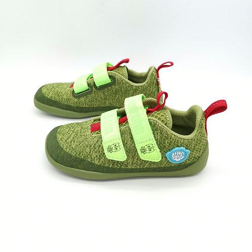 Affenzahn Dragon Lowcut Knit Green/Red