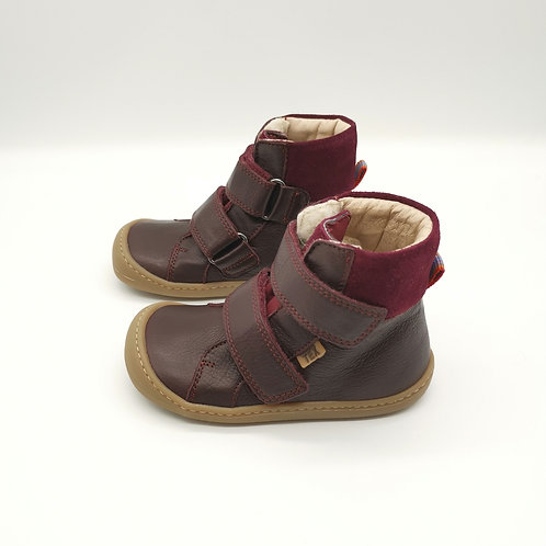 KOEL4KIDS Barefoot Winterstiefel Bio Tex Bordo
