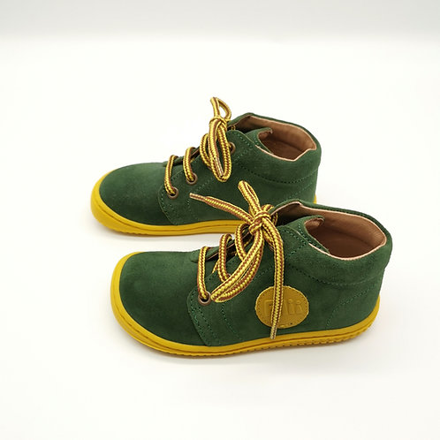 Filii  Geckii Velours Leather Forest Laces