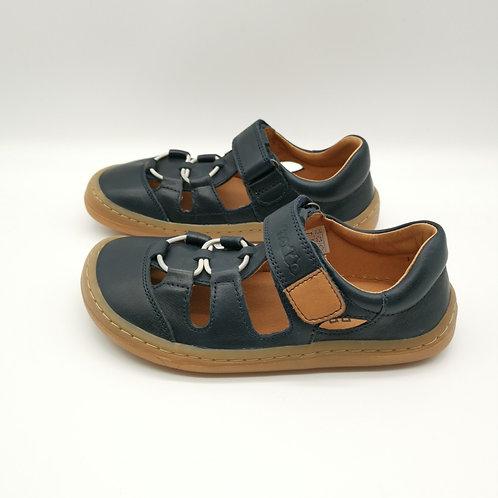 Froddo Barefoot Sandalen Dark Blue Velcro/Elastiksenkel