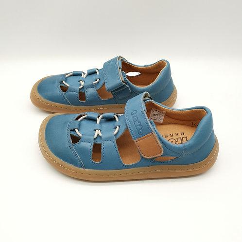 Froddo Barefoot Sandalen Jeans Velcro/Elastiksenkel