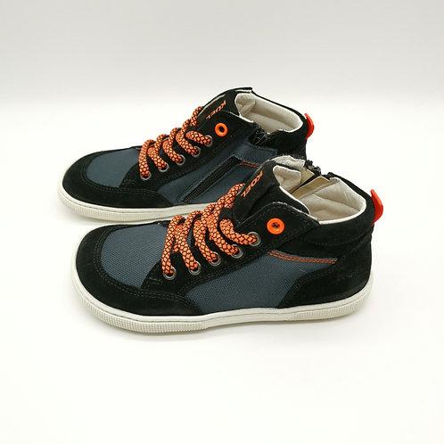 KOEL4KIDS Barefoot Sneaker Highcut Black
