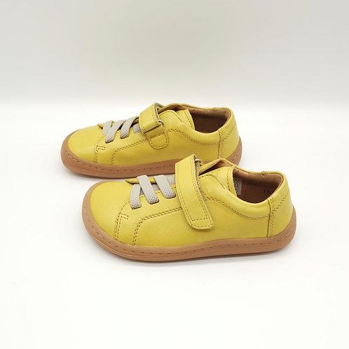 Froddo Barefoot Halbschuhe Yellow Velcro/Elastiksenkel