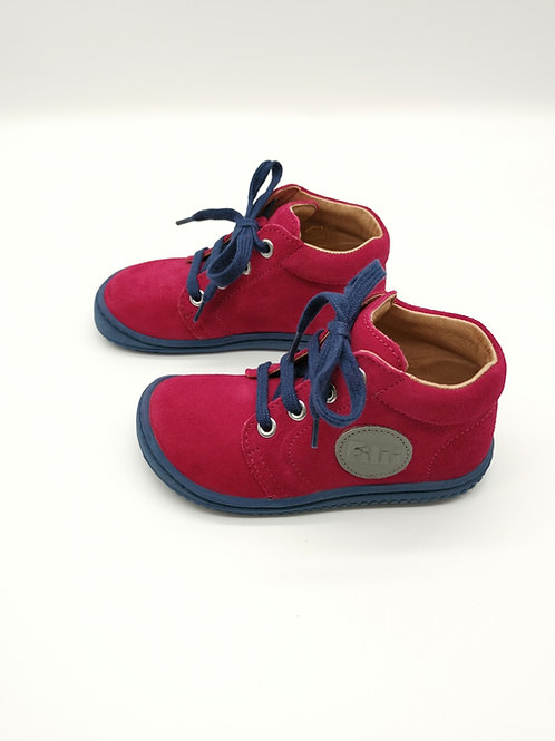 Filii Geckii Velours Leather Pink Laces