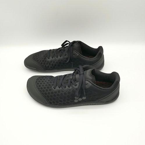 Vivobarefoot Stealth III L Obsidian Black Textile