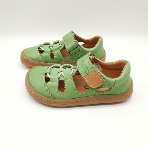 Froddo Barefoot Sandalen Olive Velcro/Elastiksenkel