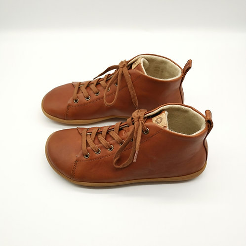 Mukishoes Raw Leather Brown Laces