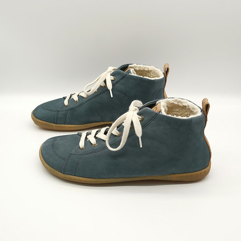 Mukishoes Raw Leather Blue