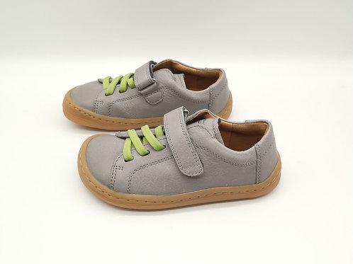 Froddo Barefoot Halbschuhe Light Grey Velcro/Elastiksenkel